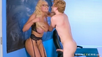 Nicolette Shea Is A Horny Teacher Craving An Erected Cock
