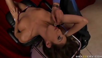 April O'Neil Playing Game Who Wants To Fuck A Millionaire