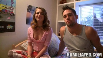Kasey Chase Is Fucked Hard While Tied Up