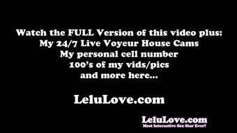 The Lelu Twins Double Vision Mutual Masturbating On Couch