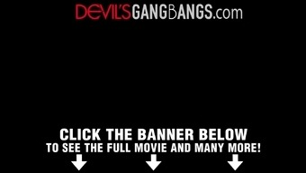 Devilsgangbangs Dp'D Squirting Slut Loves Bbc'S
