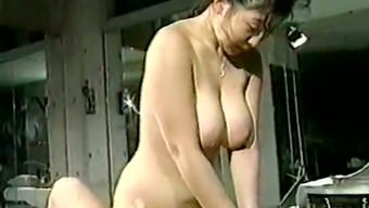 Dude With Small Cock Pleases Curvaceous And Busty Japanese Girl