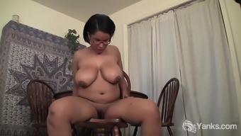 Chubby Natalia Masturbating