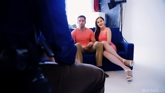Tina Kay Is A Naughty Chick Who Loves Opening Her Legs For A Dick