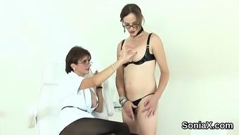 Unfaithful English Mature Lady Sonia Exposes Her Big Tits
