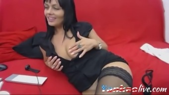 Webcam Brunette Slut Smoking And Teasing For Fun