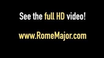 Rome Major Slams Brianna Bentley With His Huge Black Dick!