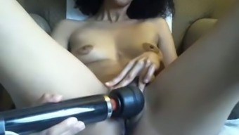 Small Tittied Mature Bitch Is Playing With Cunt For Me