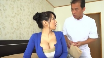 Despite Her Small Frame This Japanese Vixen Has Enormous Juicy Breasts
