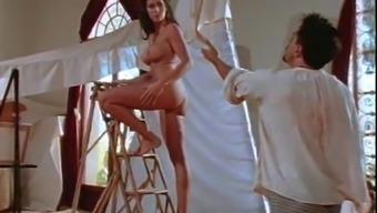 Fake Tits Alana Evans Taking Cock Hardcore Doggystyle