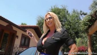 Several Black Studs Fuck Sex-Hungry Blond Bitch Brooke Tyler