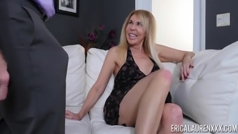 Mature Chick Erica Lauren Finally Gets To Taste His Delicious Dick