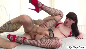 Pretty Tgirl Natalie Mars Teases Ruckus Until He Joins Her For Anal