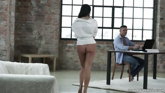 Small-Titted Brunette Lexi Layo Having Her Wet Pussy Destroyed