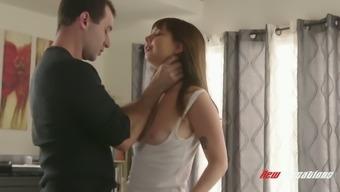 Attractive Teen Is Fucked By Well Endowed Fucker James Deen
