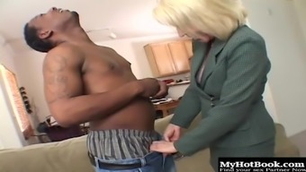 Erica Lauren Is A Blonde Haired, Mature That Any Man Would Love