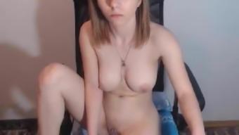 -  Teen Big Tits Wet Pink Pussy Rub