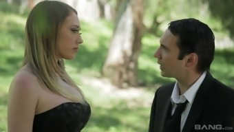 Fake Tittied Babe Kagney Linn Karter Is Making Love On The First Date