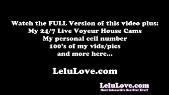 Lelu Love-My Pregnant Pussy Waiting For You