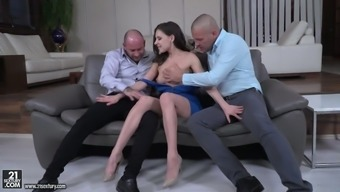 Lustful Slender Slut Henessy Is Actually Ready For Some Hard Double Penetration