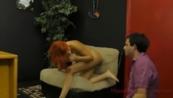 Savana Styles Makes Her Bitch Slave Tongue Her Asshole - Femdom Ass Worship