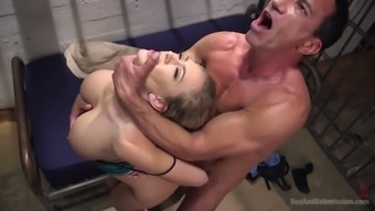 Appetizing Big Breasted Beauty Kagney Linn Karter Gets Hammered By Horny Stud