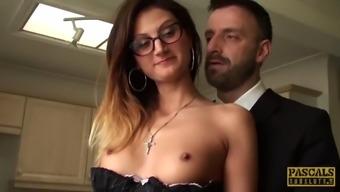 Pascalssubsluts Hot Eva Johnson Submits To Anal Discipline