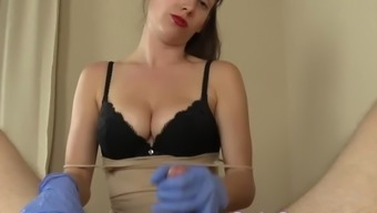 Your Virtual Prostate Exam And Strapon Pegging If You Can Handle It...