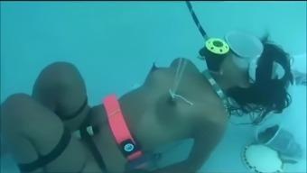 Bondage Under Water