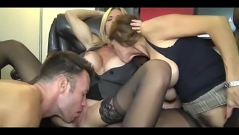 Milfs Share At The Office