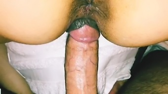 Condom Pulled Off Right Before Cumming Inside First Time Tinder Fuck