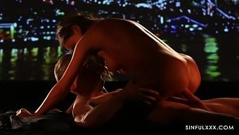 Depraved Boyfriend Licks Soaking Pussy Of Lovely Tina Kay