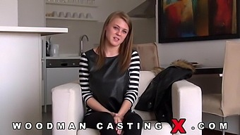 French Casting And Viola Baily'S First Real Porn