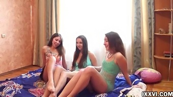 Youth Orgy With My Step Sister And Her Girlfriends From College. Ananta Shakti With Jay Dee And Helena Him