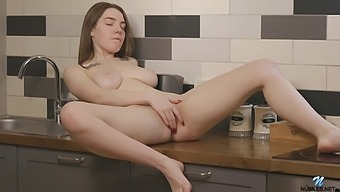 Hot Video Of Cute Kiere Playing With Herself In The Bathroom