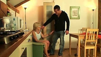 Very Old Girlfriends Mother Gets Fucked On The Table