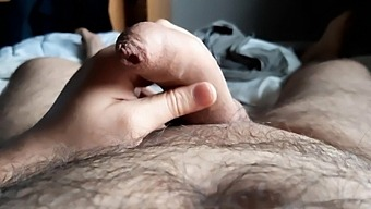 Showing My Cock After Shave