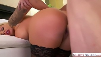 Elle T And Nina Elle - Step Mom Takes Young Cock