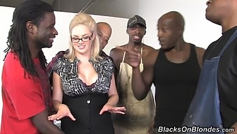 Gangbang With Naughty Teacher Katie Kox And Her Black Students