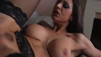 Martina Gold - Busty Italian Pornstar Has A Quickie Anal Sex With A Big Black Cock - Soft 9 Min