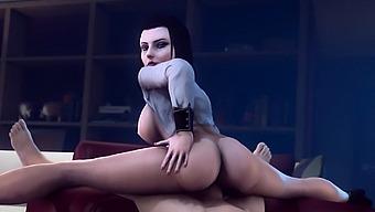 Sluts From 3d Video Games Gets A Big Dick