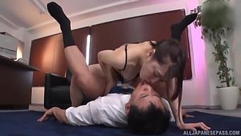 Nice Tits Asian Secretary Kase Kanako Demands To Be Fucked Hard