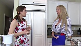 Sexy Taboo Tryst For The Tyler Ladies, Brooke And Kasey