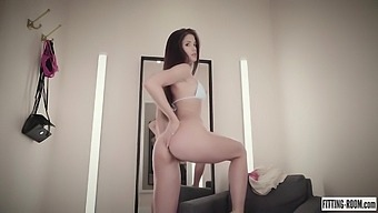 Little Caprice And Caprice - Fitting Room Hot Solo