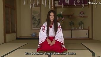 Airi Ai Is Wearing Her Best Kimono