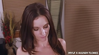 Deliciously Kinky Milf Mandy Flores Knows How To Make Her Stepson Cum
