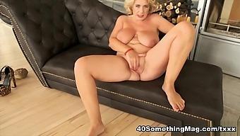 Busty British Milf Camilla Returns - Camilla - 40somethingmag
