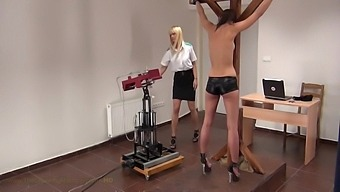 Little Caprice In The Spanking Machine Part1