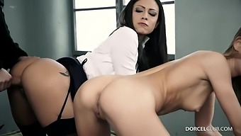 Kinky Blonde Had The Best Sex Adventures While In The Prison, With Men And Women