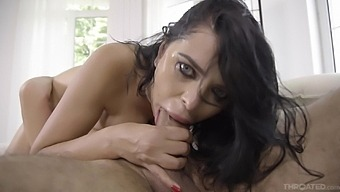 Energized Brunette Gets The Dick Harder Than Expected